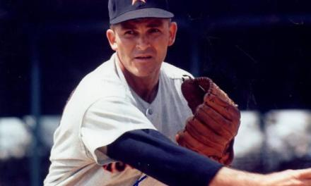Don Nottebart throws the first no-hitter in franchise history when the Colt .45's