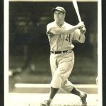 "Jimmie Foxx ""Sincere Wishes"" Signed 5.5x7.5 Geo Burke Sepia Photo #Z30198 - JSA Certified"