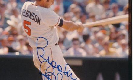 Brooks Robinson becomes one of five players to hit grandslams in consecutive games