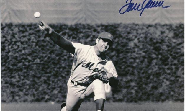 Tom Seaver picks up his first victory