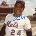 Willie Mays Autographed Picture - NY Authentic - JSA Certified