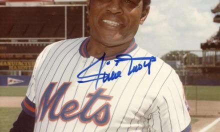 Willie Mays of the New York Mets makes his final appearance in an All-Star Game