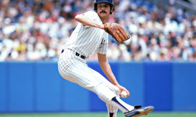 Ron Guidry gives up the most runs since 1977