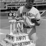Willie Mays 41st Birthday Cake
