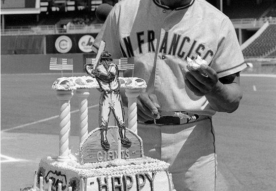 Willie Mays birthday 1972