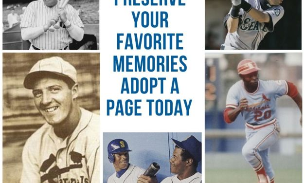 This Day In Baseball Single Page Annual Adoption