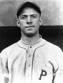 Burleigh Grimesof theBrooklyn Robinsaccounts for sevenoutsin just threeplate appearances in 12 inning loss to Cubs