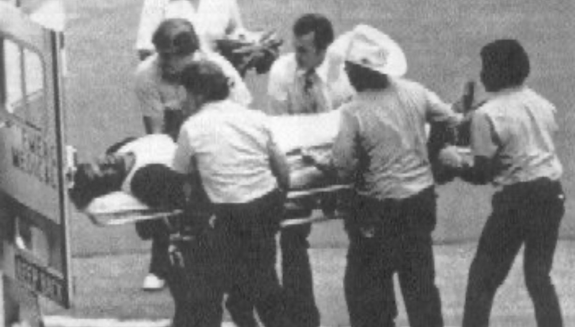 J.R. Richardcollapses from a stroke while working out at the Astrodome. He is rushed to Methodist Hospital where surgery saves his life. His distracted teammates lose in Philadelphia, 6-4. Richard would never regain the coordination needed to resume his career.
