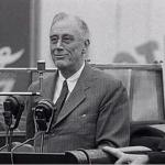 FDR Visits Ebbets Field
