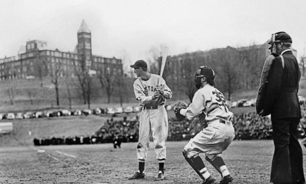 Ted Williams hits grand slam in spring training