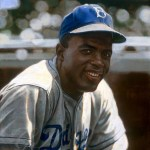 Jackie Robinson makes a historic debut for the Brooklyn Dodgers