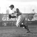 A classic shot ... Lou Gehrig at Fenway Park