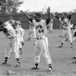 Spring training Bradenton. Fl 1957