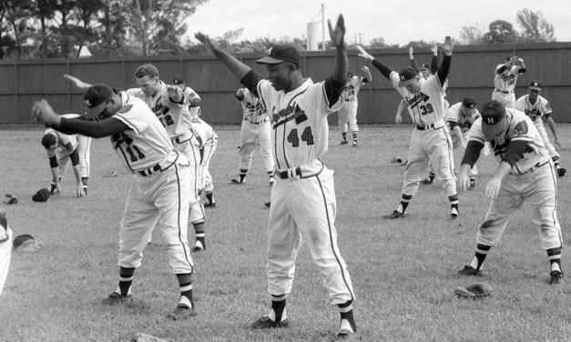 Spring training Bradenton. Fl 1957