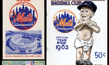 Radio Broadcast – Exhibition Game New York Mets vs Kansas City A's 1962