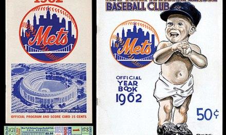 Radio Broadcast – Exhibition Game New York Mets vs Kansas City A's 1962