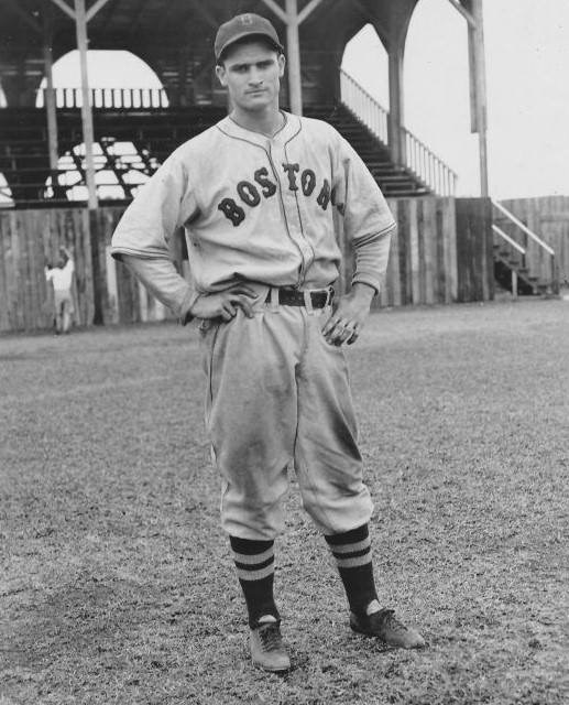 Bobby Doerr at spring training in Sarasota, Florida – 1937.