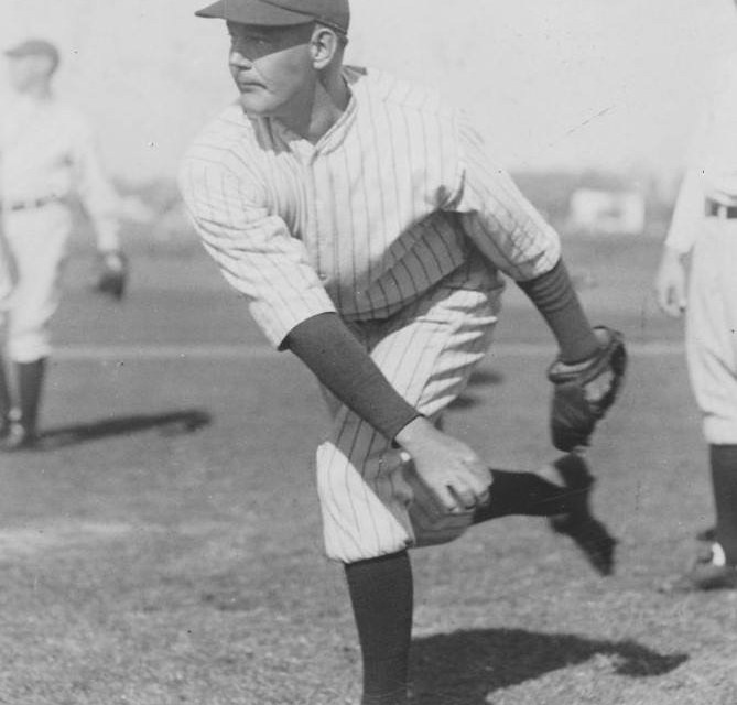 George Pipgras at spring training in St. Petersburg, Florida – 1927