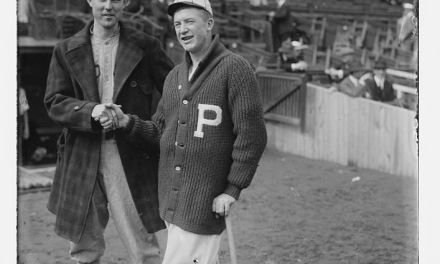 The Philadelphia Phillies win their first-ever World Series game behind Grover Cleveland Alexander, 3 – 1