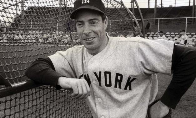Joe DiMaggio of the New York Yankees undergoes surgery for bone spurs on his right heel at Johns Hopkins Hospital in Baltimore