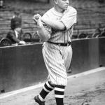 Joe Sewell sets a major league record by playing in his 115th consecutive game without striking out. The Indian third baseman will be fanned only four times in 578 at-bats this season.