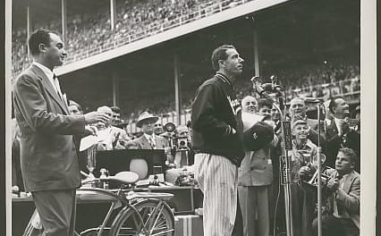 Joe DiMaggio number is retired