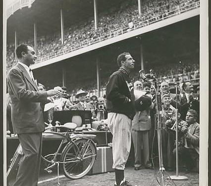 Joe DiMaggio number is retired