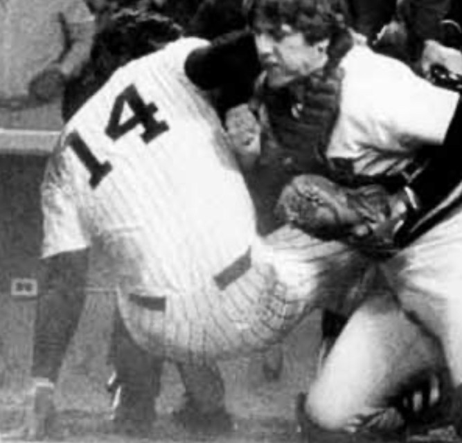 Prime time and Carlton Fisk Square off