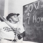 Don Newcombe misses pitching complete games in both games of a doubleheader for the Brooklyn Dodgers