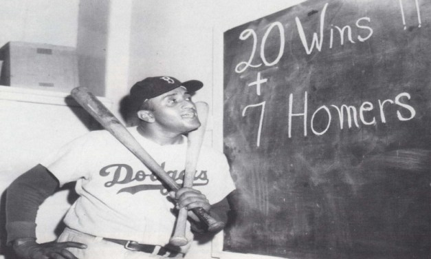 Don Newcombemisses pitchingcomplete gamesin both games of a doubleheader for theBrooklyn Dodgers