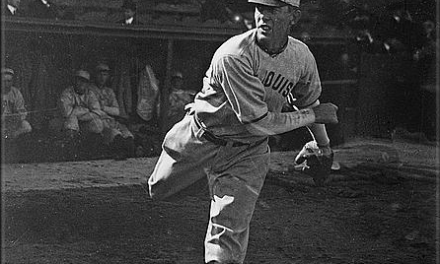 "Reds player-manager Christy Mathewson, pitching his only game not in a Giant uniform, beats his long-time nemesis Mordecai ""Three Finger"" Brown and the Cubs, 10 – 8. In the 25 contests in which the two legends have faced one another, Matty, by winning the last decision, takes a 13-12 advantage in their final meeting."
