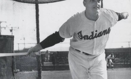 Roger Maris at spring training in Tucson, Arizona – 1957.