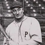 Pittsburgh's Honus Wagner steals four bases, including second base, third, and home in the 2nd inning against the Giants. Not to be outdone, his teammate Fred Clarke also swipes four bases for the only time in his career.