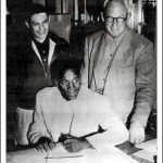 Cardinals sign their first black player when Fresno State College slugger Len Tucker