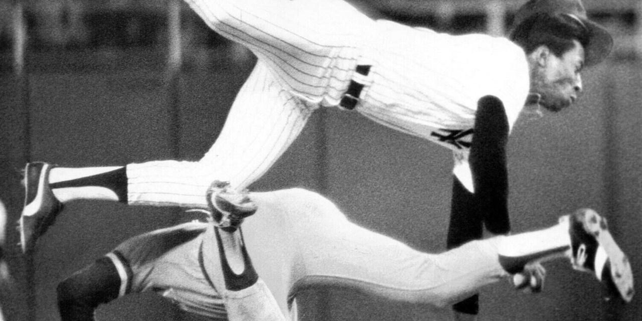 Hal McRae vs Willie Randolph in 1977.