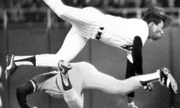 Hal McRae vs Willie Randolph in 1977.