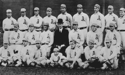 At Shibe Park, the A's clinch their second straight American League pennant, defeating the Tigers, 11 – 5. Frank Baker leads the offense with a homer and two doubles. Detroit, which led the A's by 12 games in May, will finish 2nd, 13 1/2 games back.