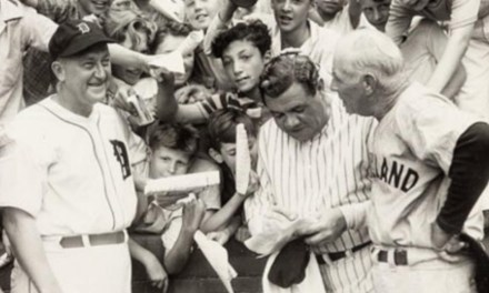 Cobb, Ruth and Speaker 1941