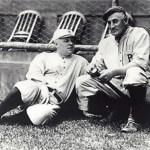 John McGraw and Honus Wagner