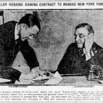 Miller Huggins is hired to manage Yankees