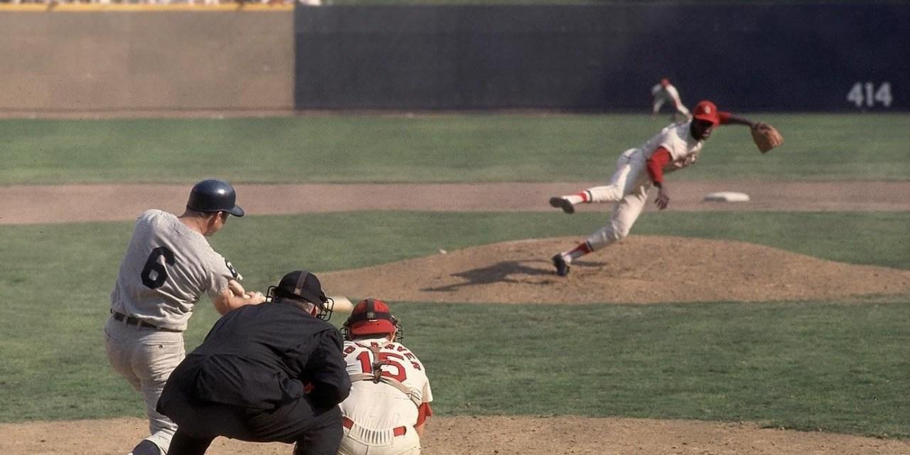 1968 World Series Bob Gibson and Al Kaline