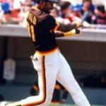 Dave Winfield's hits his first major league homer off Ken Forsch in a 12-2 loss