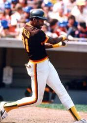 Dave Winfield's hits his first major league homer offKen Forsch in a 12-2 loss