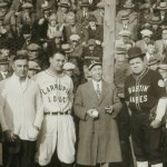 Babe Ruth and Lou Gehrig barn storm across Canada