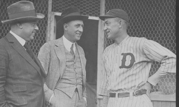On his 34th birthday, Ty Cobb signs to manage the Tigers for $32,500.