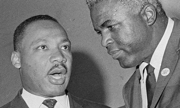 Jackie Robinson on Dr. Martin Luther King