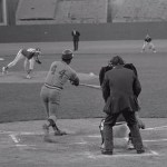Hank Aaron moves past Stan Musial
