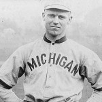 George Sisler, a freshman at theUniversity of Michigan, strikes out 20 in seven innings. Sisler will start hisHall of Famecareer in1915with theSt. Louis Browns, but will gain his fame as a hitter, not as a pitcher.
