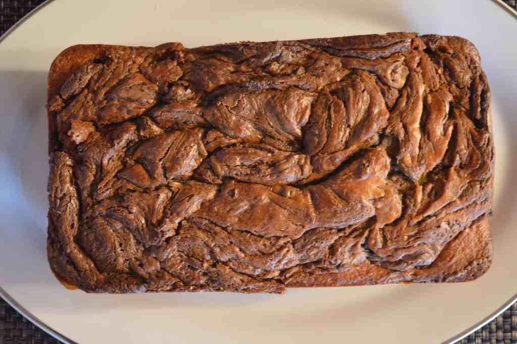 Nutella Banana Bread