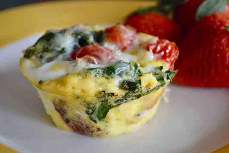 Kale Egg Breakfast Cups – Freezer Friendly